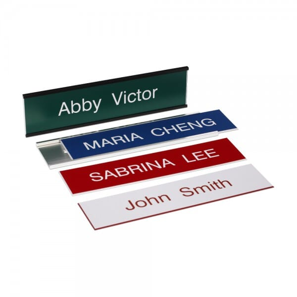 """Custom Engraved Sign- Traditional 2"""" x 8"""""""