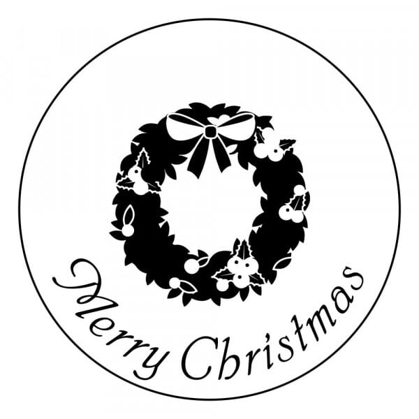 Craft Stamp - Merry Christmas