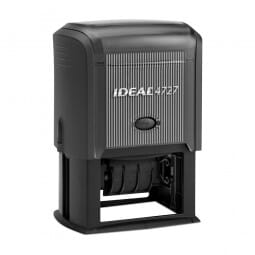 """Ideal Dater 4727 1 9/16"""" x 2 3/8"""" - 3+3 lines"""
