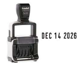 Trodat Professional Date Stamps