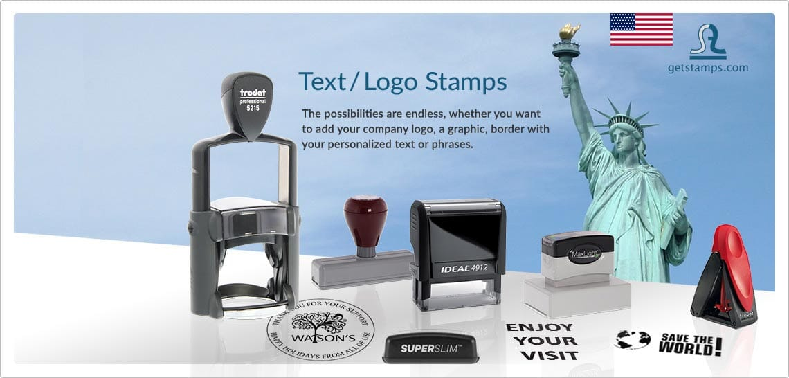 Text/Logo Stamps