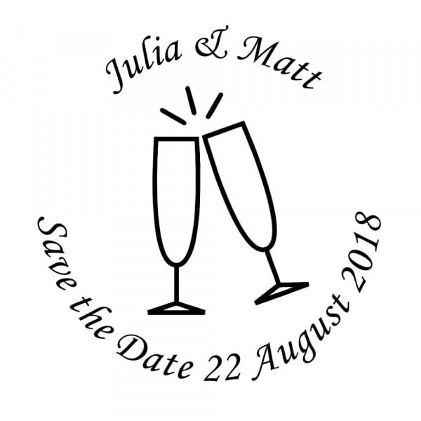 Save-the-Date Craft Stamp