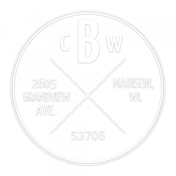 Four Corners Round Monogram Seal