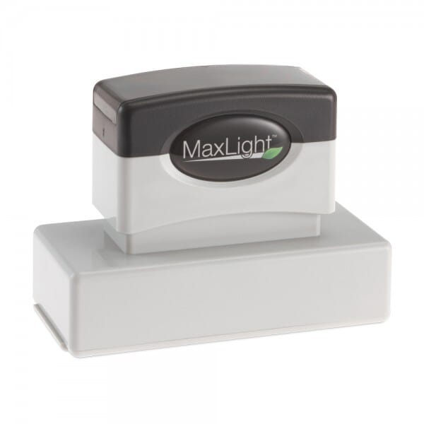New York Notary Pre-Inked Stamp - 15/16 x 2-13/16