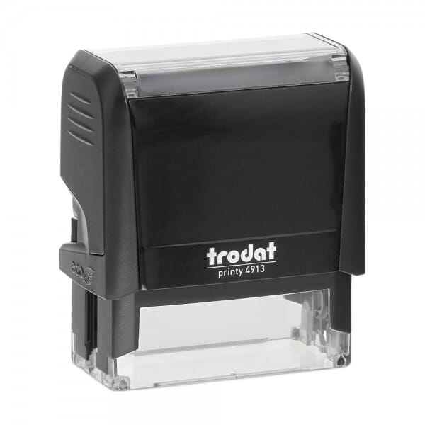 Wisconsin Notary Self-Inking Stamp - 7/8 x 2-3/8