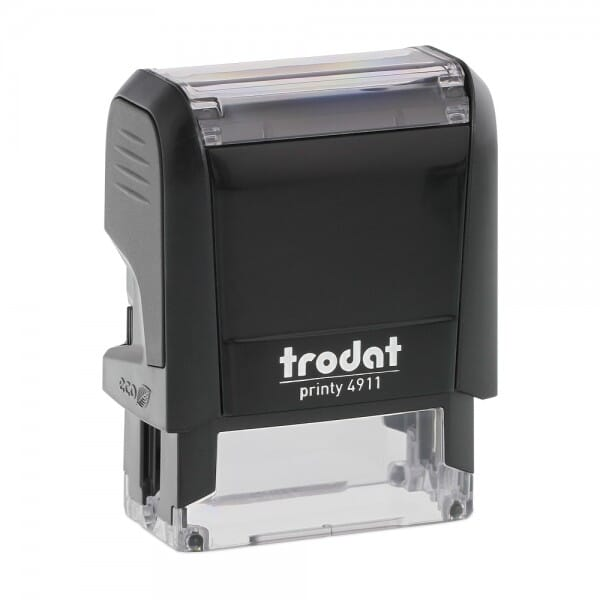 Trodat Printy 4911 Stock Stamp - COMPLETED (box)