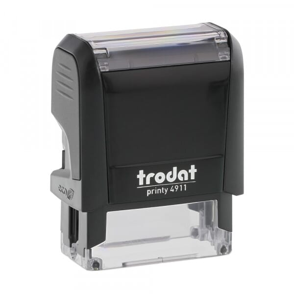 Trodat Printy 4911 - S-Printy - Stock Stamp - I heart you