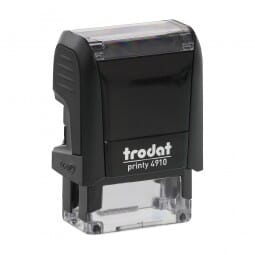 "Trodat Printy 4910 3/8"" x 1"" - up to 2 lines"