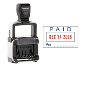 Professional Date & Text Stamps