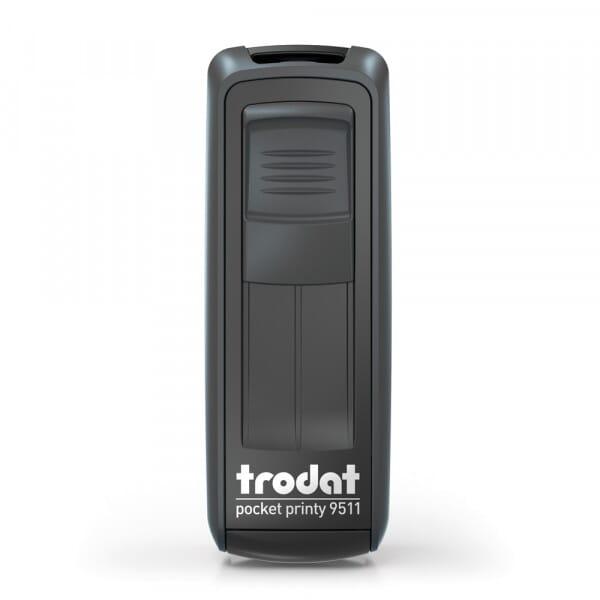 "Trodat Pocket Printy 9511 9/16"" x 1-1/2"" - up to 3 lines"