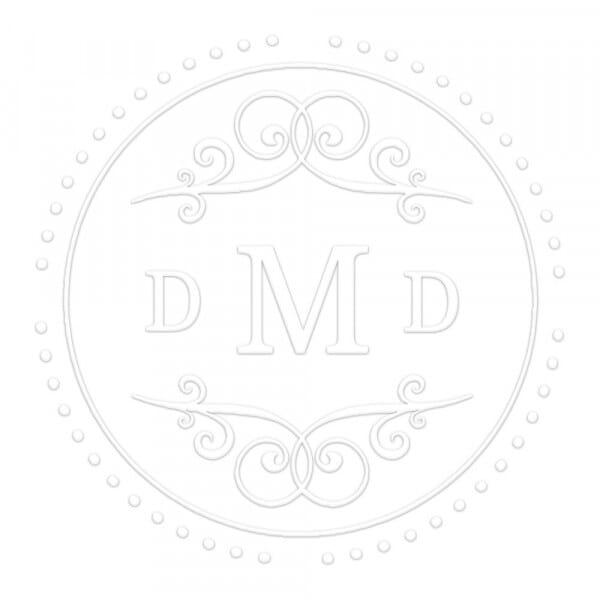 Classic Style Round Monogram Seal