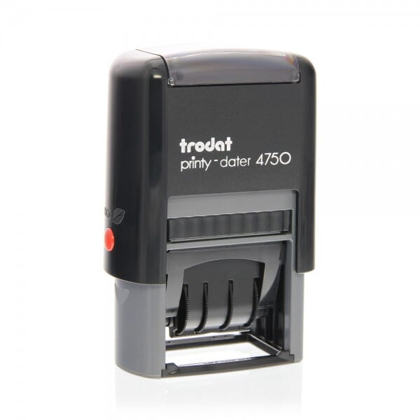 Trodat Printy Dater 4750/4L - RECEIVED, ENTERED, PAID, FAXED