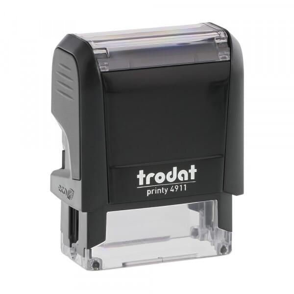 Trodat Printy 4911 - S-Printy - Stock Stamp - Let's Eat