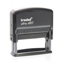 "Trodat Printy 4917 3/8"" x 2"" - up to 2 lines"