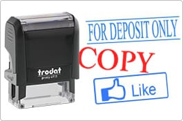 Trodat Text & Stock Stamps