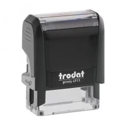 Trodat Printy 4911 Stock Stamp - CANCELLED