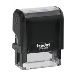 "Trodat Printy 4912 3/4"" x 1-7/8"" - up to 4 lines"