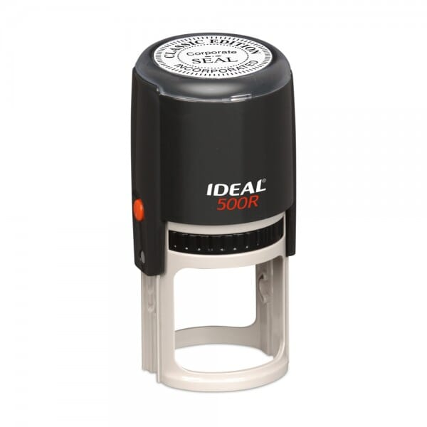 "Ideal 500R 2"" - Round - up to 10 lines, black"