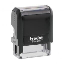 Trodat Printy 4911 Stock Stamp - FAXED (box)
