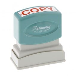 Xstamper Pre-Inked Stock Stamp - COPY (1359)