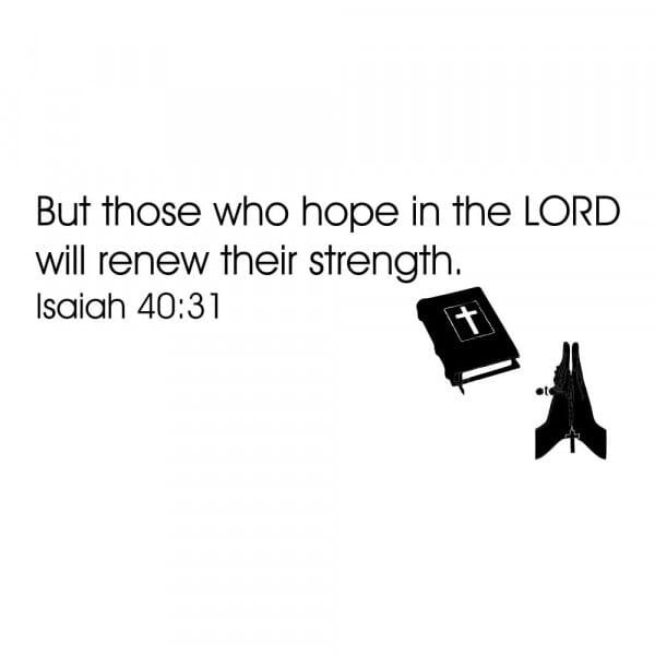 Craft Stamp - Isaiah 40:31
