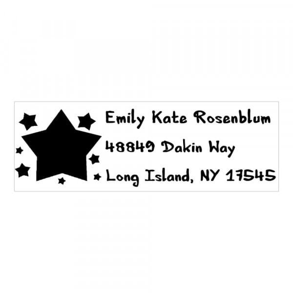Monogram stamp rectangular - No  14