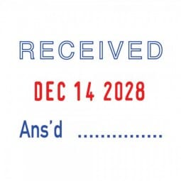 Trodat Professional 5440/L with 5 interchangeable dies