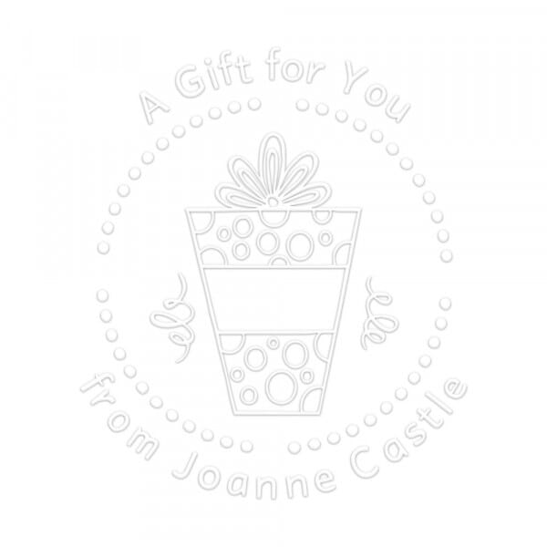 A Gift for You Round Monogram Seal