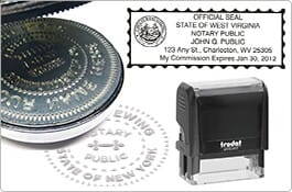 Notary Stamps & Seals
