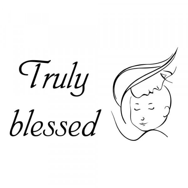 Craft Stamp - Truly Blessed