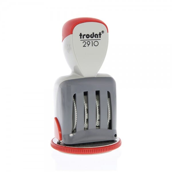 "Trodat Classic 2910-24HR 2"" diam. - up to 2 lines"