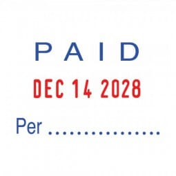 Trodat Professional 5430/L with 6 interchangeable dies