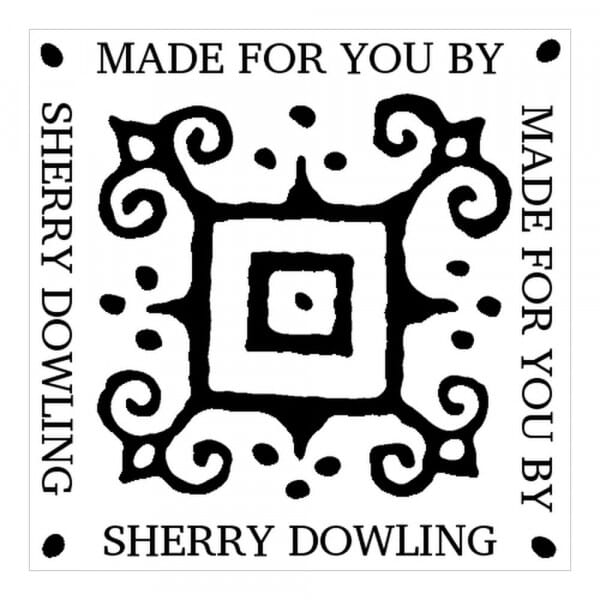 Monogram stamp squared - No  53