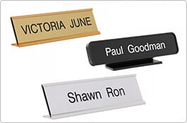 Personalized Desk Signs