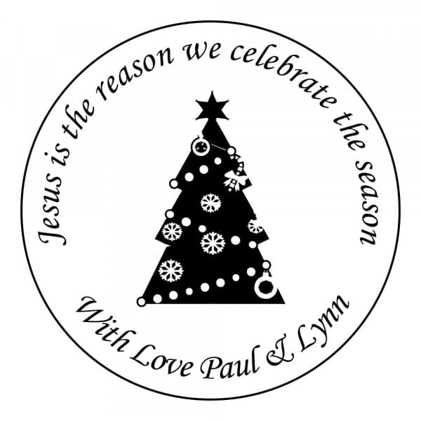 Christmas Card Stamp