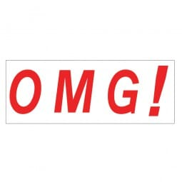 Trodat Printy 4911 Stock Stamp - OMG
