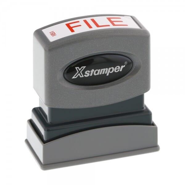 Xstamper Pre-Inked Stock Stamp - FILE (1051)
