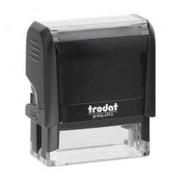 New Hampshire Notary Self-Inking Stamp - 7/8 x 2-3/8