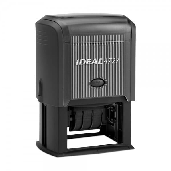 """Ideal Dater 4727 1-9/16"""" x 2-3/8"""" - 3+3 lines"""